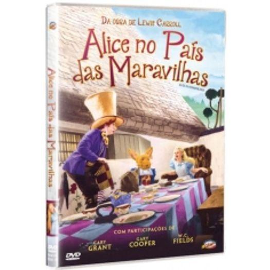 DVD Alice no País das Maravilhas - Cary Grant, Gary Cooper, W.C.Fields