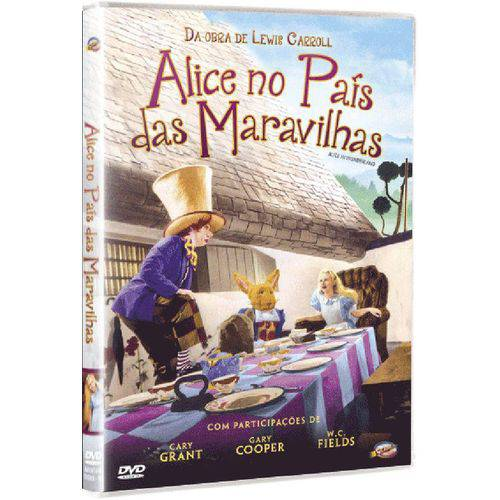 DVD Alice no País das Maravilhas - Charlotte Henry