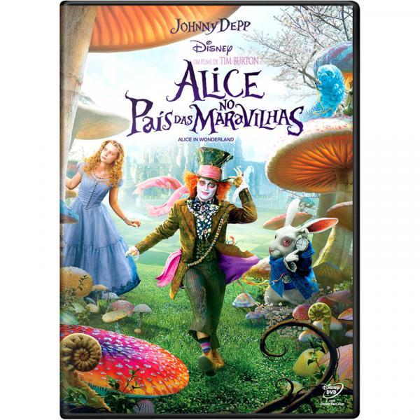 DVD - Alice no País das Maravilhas - Sonopress