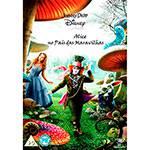 DVD Alice no País das Maravilhas