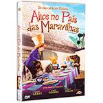 DVD - Alice no País das Maravilhas