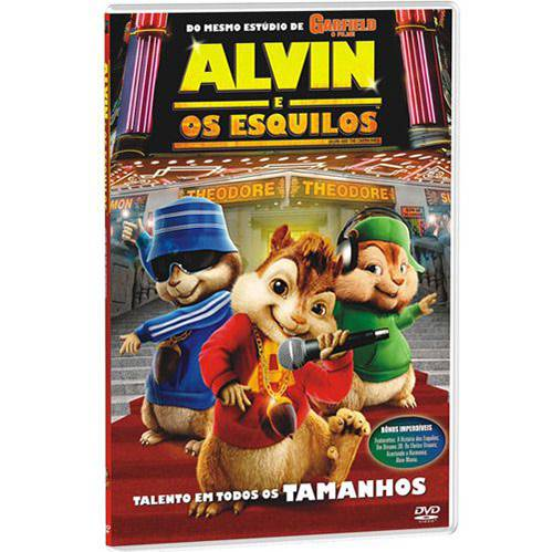 Tudo sobre 'DVD Alvin e os Esquilos'