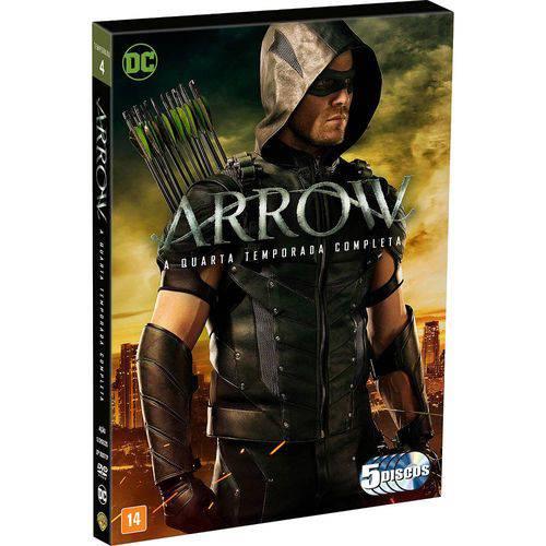 Tudo sobre 'DVD Arrow - a 4ª Temporada Completa'
