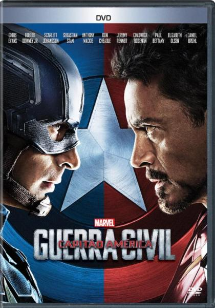 DVD Capitão América: Guerra Civil - 1