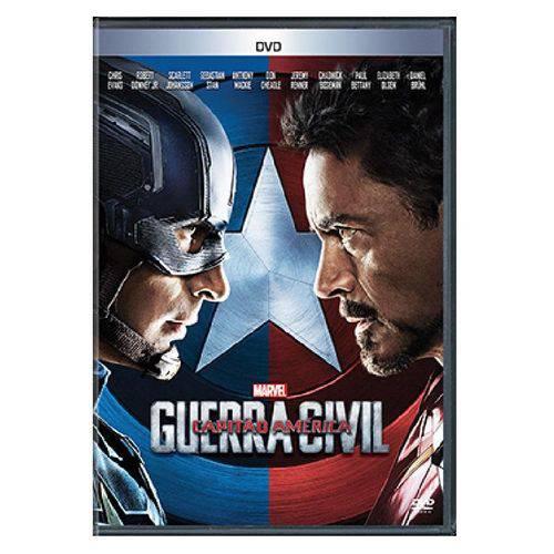 DVD Capitão América: Guerra Civil