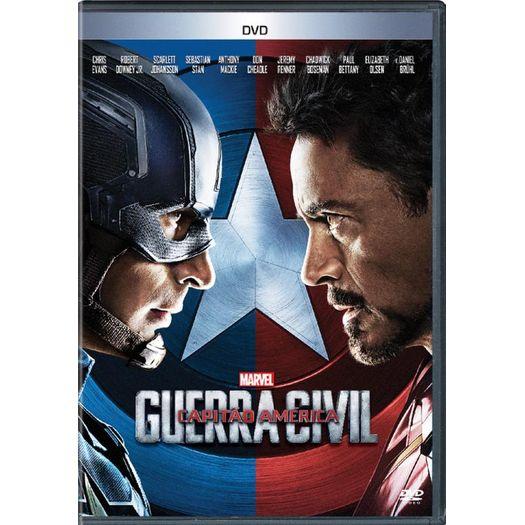 Tudo sobre 'DVD Capitão América: Guerra Civil'