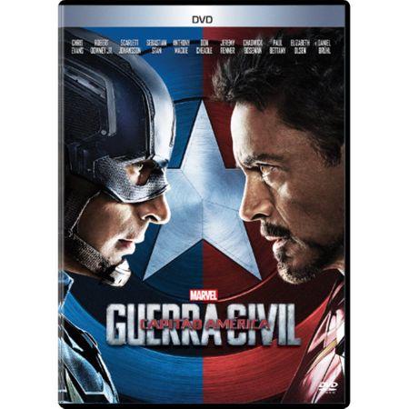 DVD Capitão América 3 - Guerra Civil