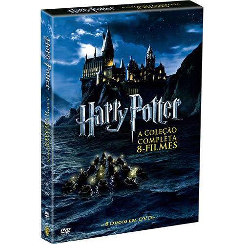 Tudo sobre 'DVD Coleção Harry Potter 1-7B (8 Discos)'