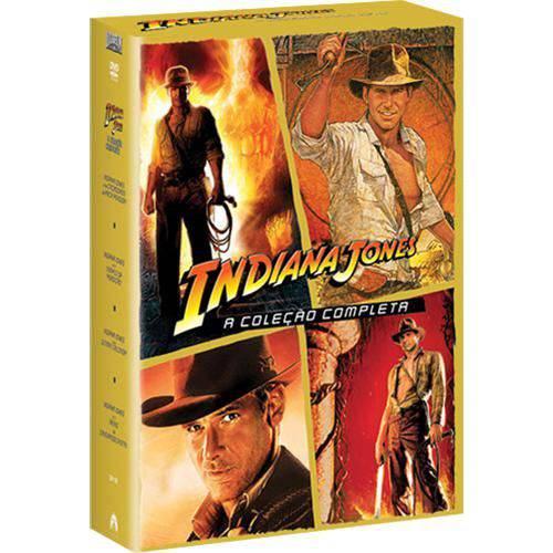 Tudo sobre 'DVD Coleção Indiana Jones 4 Discos'