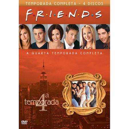 Tudo sobre 'DVD Friends - 4ª Temporada (Box 4 DVDs)'