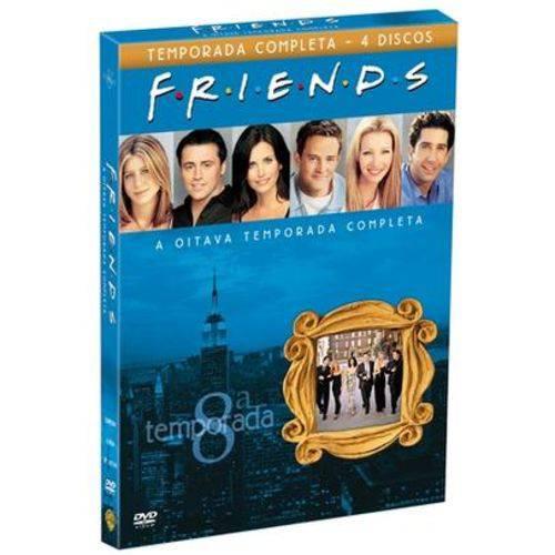 Tudo sobre 'DVD Friends - 8ª Temporada - 4 Discos'