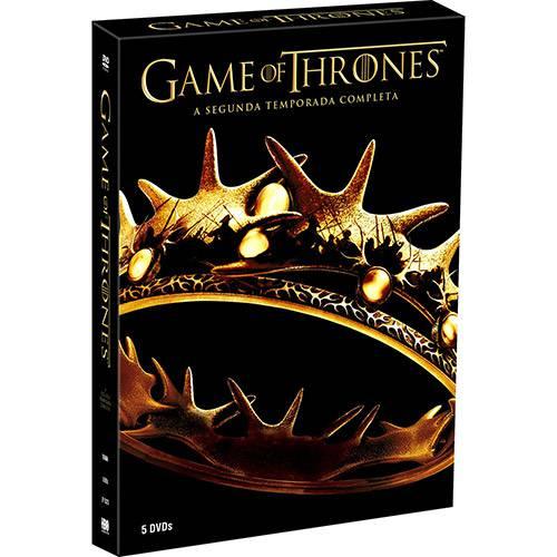 Tudo sobre 'DVD Game Of Thrones: 2ª Temporada Completa (5 Discos)'