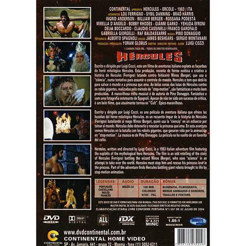 Tudo sobre 'DVD Hércules'