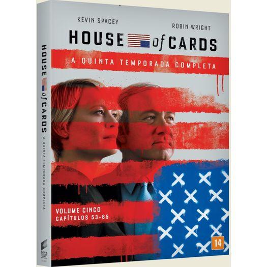 Tudo sobre 'DVD House Of Cards - Quinta Temporada (4 DVDs)'