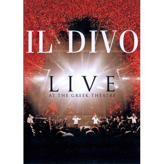 Tudo sobre 'DVD Il Divo - Live At The Greek Theatre'