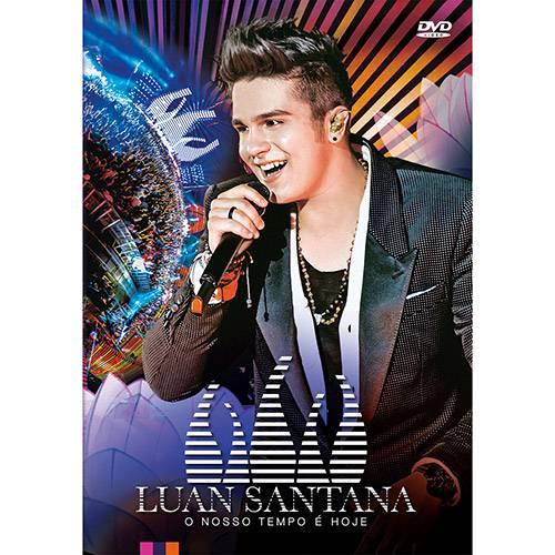 Tudo sobre 'DVD - Luan Santana - o Nosso Tempo é Hoje - ao Vivo'