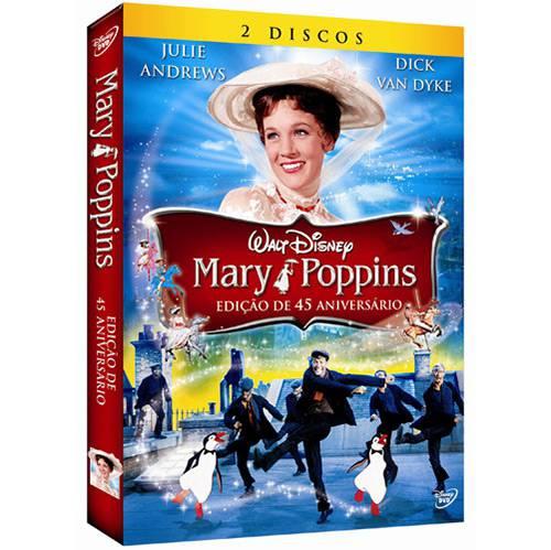 Tudo sobre 'DVD Mary Poppins - Ed. de 45° Aniversário'