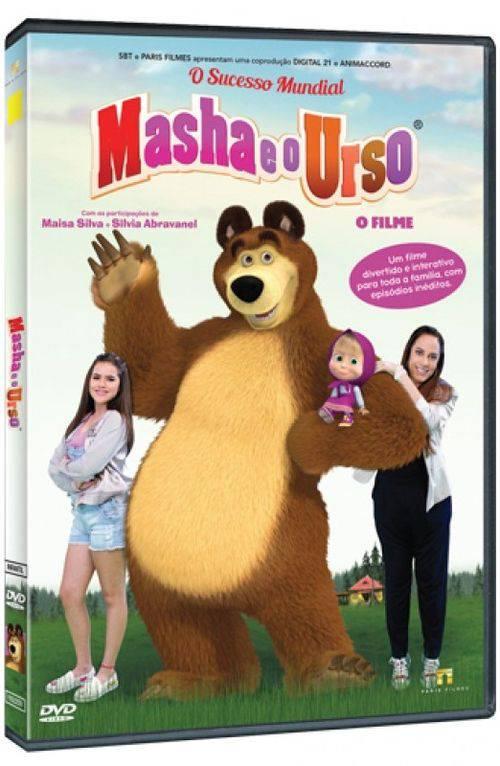 Dvd Masha e o Urso: o Filme