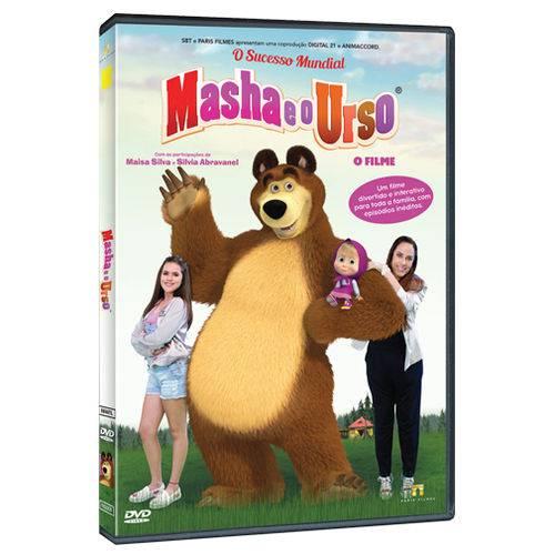 Dvd - Masha e o Urso - o Filme