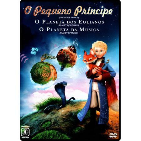 DVD o Pequeno Príncipe - Planeta dos Eolianos + Planeta da Música