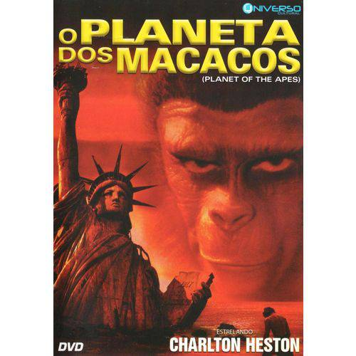 Tudo sobre 'DVD o Planeta dos Macacos'