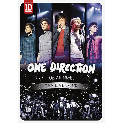 Tudo sobre 'DVD One Direction - Up All Night: The Live Tour'
