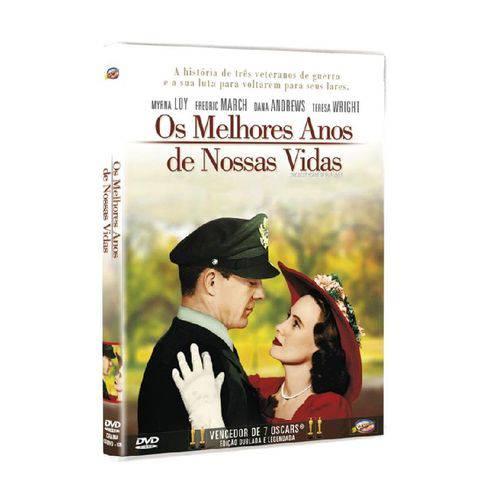 DVD os Melhores Anos de Nossas Vidas - Myrna Loy
