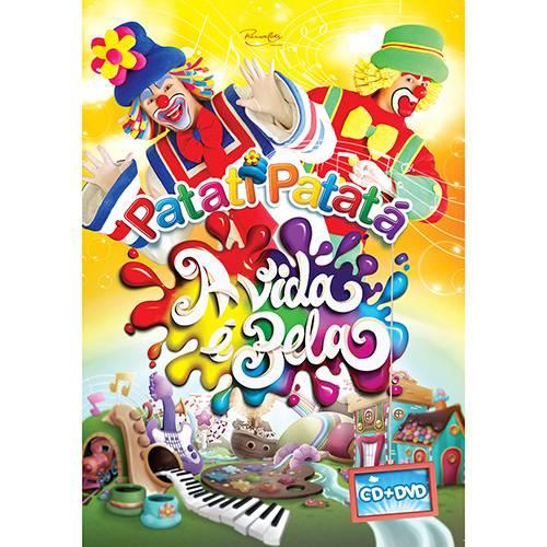 Tudo sobre 'DVD - Patati Patatá: a Vida é Bela (DVD + CD)'