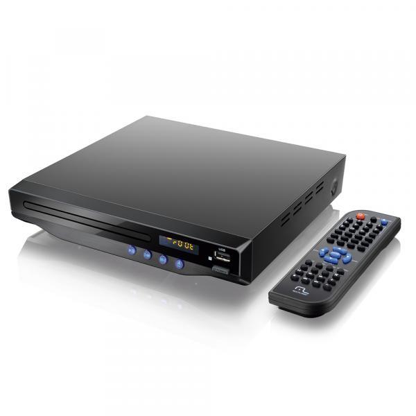 DVD Player com Saída HDMI 5.1 Bivolt Preto SP193 - Multilaser