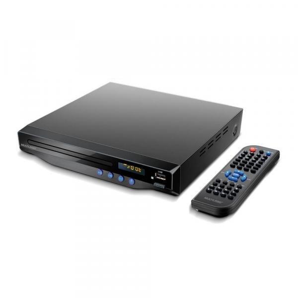 Dvd Player com Saída Hdmi 5.1 Canais/ Karaokê/ Usb - SP193 - Multilaser