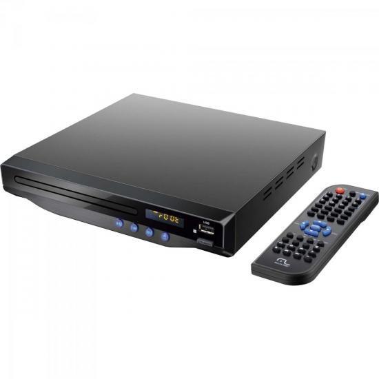 DVD Player MP3/HDMI/USB/KARAOKE SP193 Preto MULTILASER