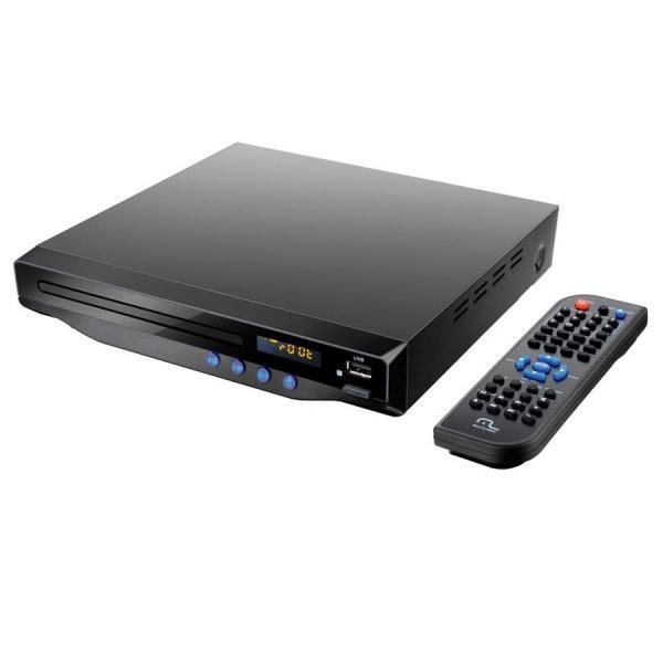 DVD Player Multilaser SP193 com Saida HDMI 5.1 Canais Karaoke e USB