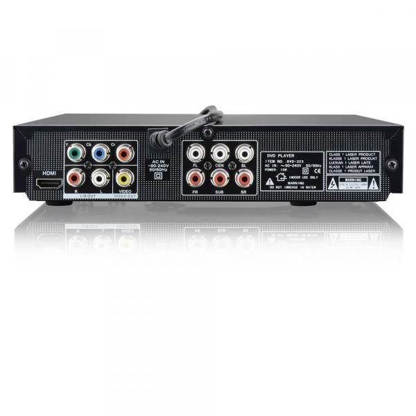 DVD Player Multilaser SP193 Saída HDMI 5.1 Canais Karaokê USB