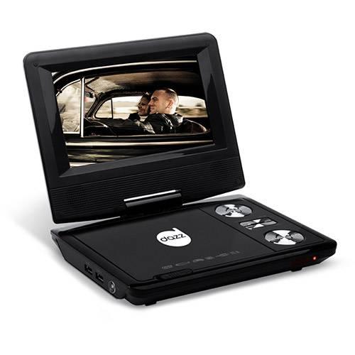 Tudo sobre 'DVD Player Portatíl DAZZ 7'''