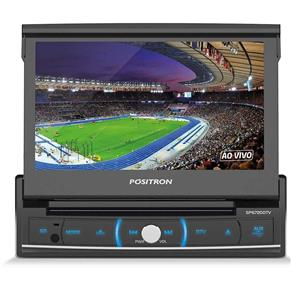 Dvd Player Positron 1din Sp6720 Dtv Touch Tv Digital 7``