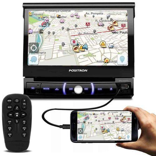 Tudo sobre 'DVD Player Pósitron Sp6730dtv 1 Din Retrátil Bt Tv Esp USB Sd'
