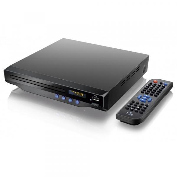 DVD Player Sistema de Som e Imagem Digital 5.1 Canais / Karaokê / HDMI - Multilaser