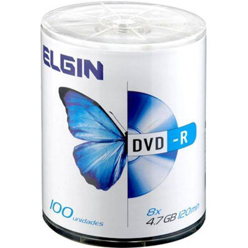 Tudo sobre 'Dvd-r 4.7gb Shrink C/100 Elgin'