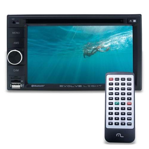 Tudo sobre 'Dvd Radio Central Multimídia Evolve Light Multilaser Bluetooth Pendrive e Sd'