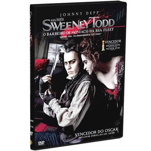 Tudo sobre 'DVD Sweeney Todd: o Barbeiro Demoníaco da Rua Fleet'