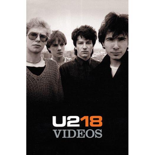 Tudo sobre 'DVD U2 - 18 Videos'