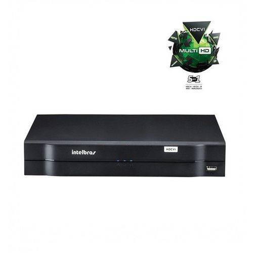 Dvr Stand Alone Multi Hd Intelbras Mhdx-1008 - 08 Canais 1080n