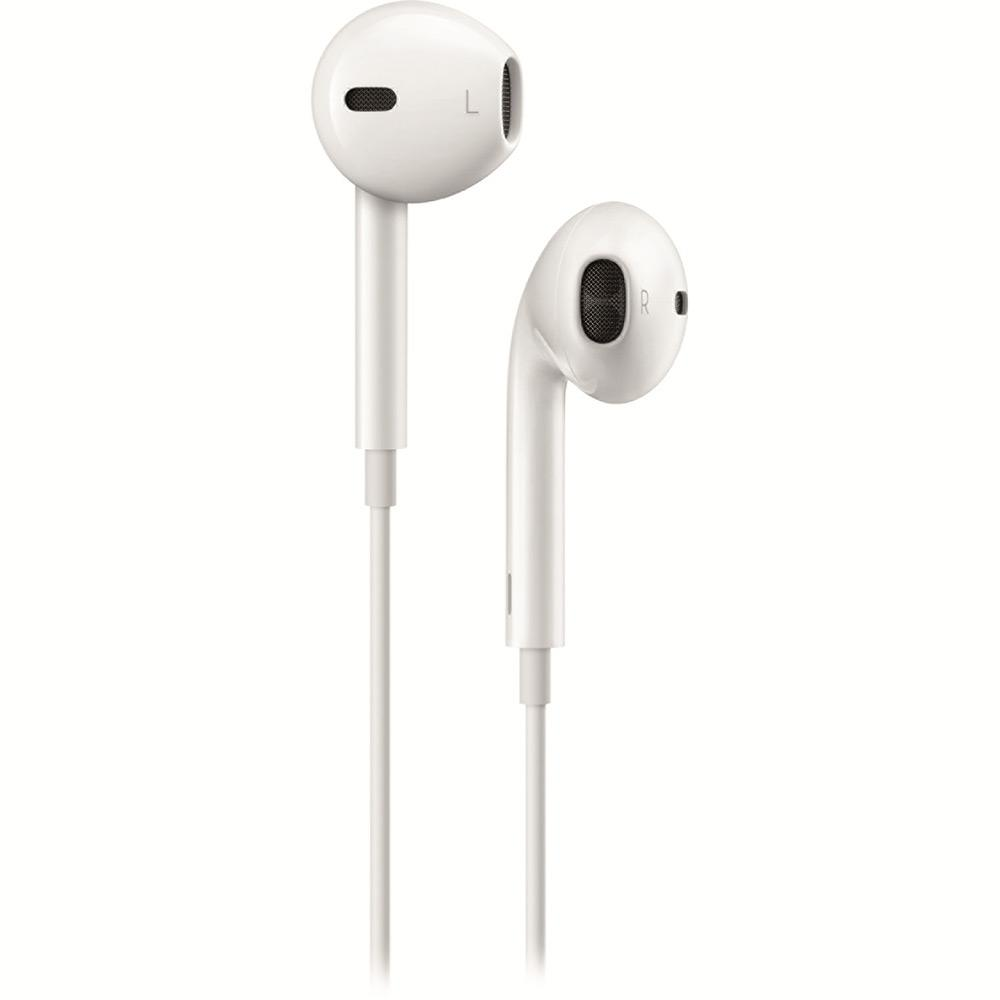 Earpods Apple MD827BZ/A com Controle de Áudio Branco