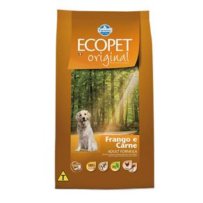 Tudo sobre 'Ecopet Cães Adult Frango e Carne 15 Kg'