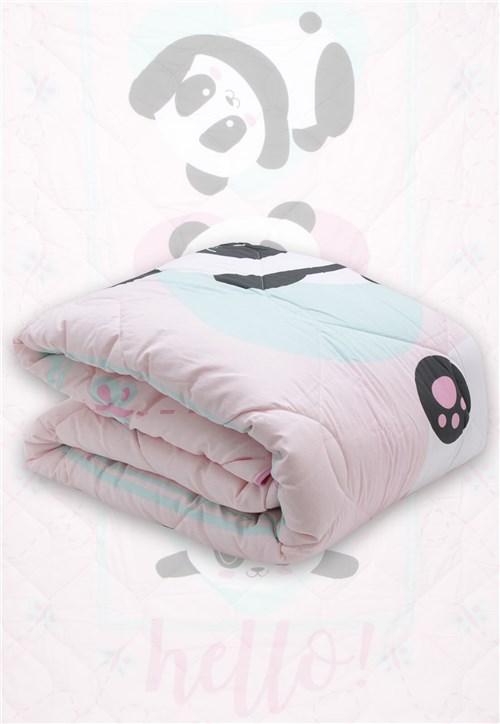 Tudo sobre 'Edredom Solteiro Lepper Panda Rosa 1,50 X 2,10'