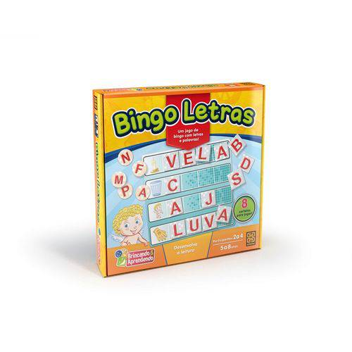 Educativo Bingo Letras