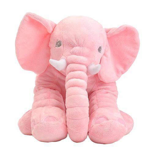Tudo sobre 'Elefante de Pelúcia Rosa Grande'
