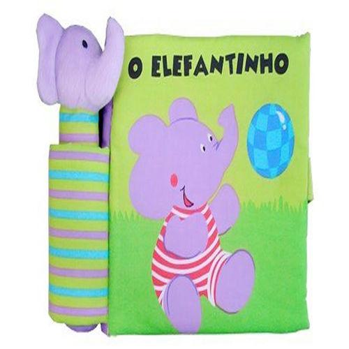 Elefantinho, o - Livro de Pano com Som