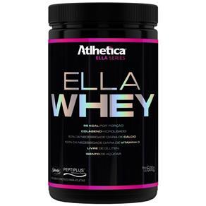 Ella Whey - Atlhetica Ella Series - Morango - 600 G