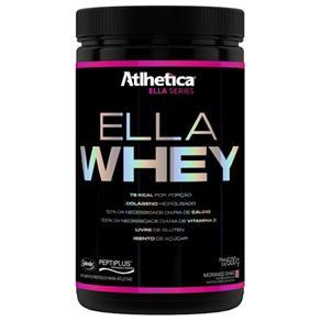 Ella Whey Atlhetica Nutrition - 600 G - Morango